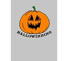 Hallowinning Photographic Print