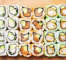 Sushi Rolls by edwhyphoto