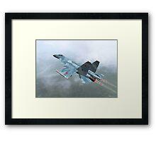 Mig-29a Framed Print