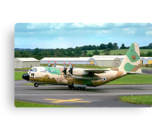 Israeli C-130H 102 Entebbe Veteran Canvas Print