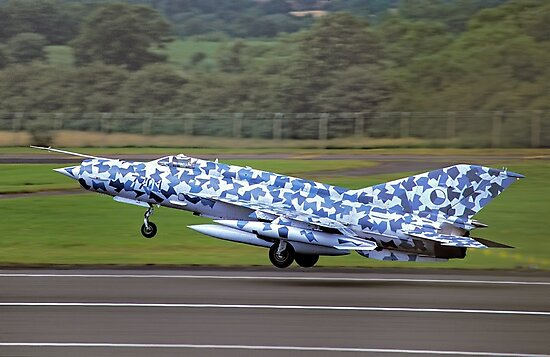 Mikoyan MiG-21MF Fishbed-J 7701 by Colin Smedley