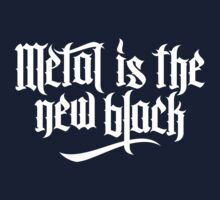 Metal is the new black No.1 (white) Kids Clothes