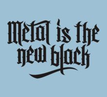 Metal is the new black No.1 (black) Kids Clothes
