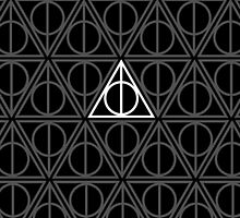 Deathly Hallows Pattern Harry Potter by kaimonroe