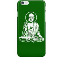 Young Buddha No.1 (white) iPhone Case/Skin
