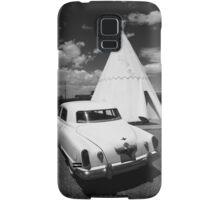 Route 66 Wigwam Motel and Classic Car Samsung Galaxy Case/Skin