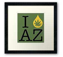 I Dab AZ (Arizona) Framed Print