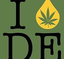 I Dab DE (Delaware) by LaCaDesigns
