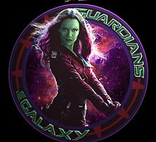 Gamora - Guardians Of The Galaxy by Leamartes