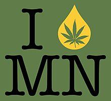 I Dab MN (Minnesota) Photographic Print