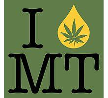 I Dab MT (Montana) Photographic Print