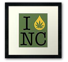 I Dab NC (North Carolina) Framed Print