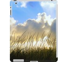Seaside Grass and Clouds iPad Case/Skin
