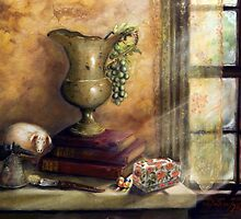 THE BOOKS BY THE WINDOW by Sandra  Aguirre