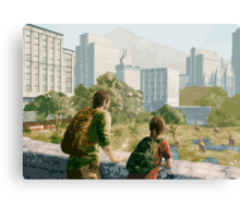 The Last of Us - Can't Deny the View Canvas Print