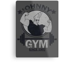 Johnny Gym Metal Print