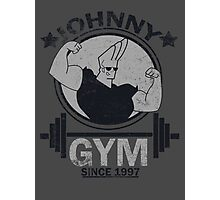 Johnny Gym Photographic Print
