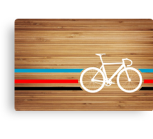 Bike Stripes Velodrome Canvas Print