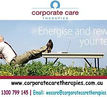Seated Massage - Massage Angels - Corporate Massage from CCT by PayneDominic