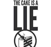 The Cake is a Lie by atlantum