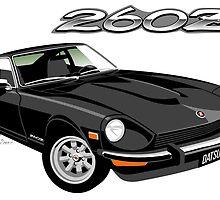 Datsun 260Z black by car2oonz