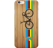 Bike Stripes World Track Champion iPhone Case/Skin