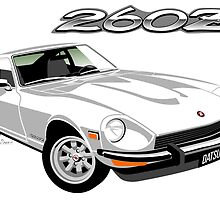Datsun 260Z white by car2oonz