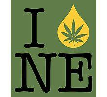 I Dab NE (Nebraska) Photographic Print