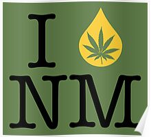 I Dab NM (New Mexico) Poster