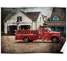 Fireman - Newark fire company Poster