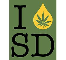 I Dab SD (South Dakota) Photographic Print