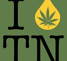 I Dab TN (Tennessee) by LaCaDesigns