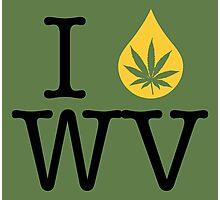 I Dab WV (West Virginia) Photographic Print