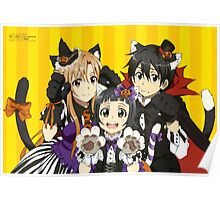 Anime: SWORD ART ONLINE - Halloween Poster