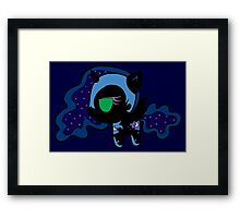 Weeny My Little Pony- Nightmare Moon Framed Print