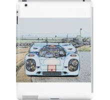 1967 Porsche 911 917K Illustration  iPad Case/Skin