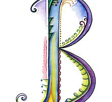 The Letter B by DalilaCasandra