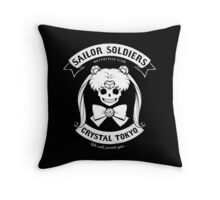 Moon's Angels Throw Pillow