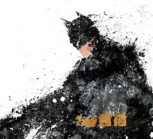 BATMAN (splatter) by kieyard