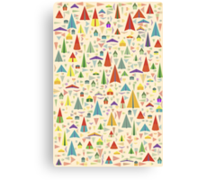 Paper Airplane 60 Canvas Print