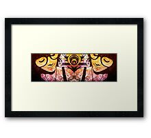 Hood of Quills Framed Print