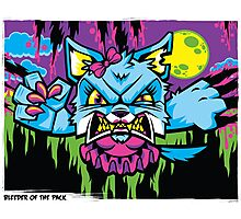Bleeder of the Pack Photographic Print