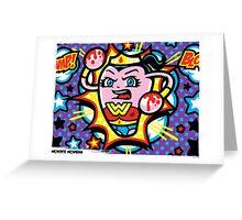 Wonder Womban Greeting Card