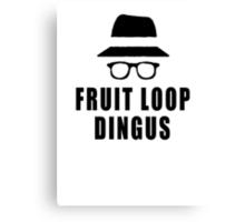 Fruit Loop Dingus Canvas Print