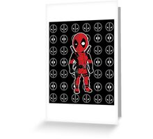 The Merc with the Mouth Greeting Card