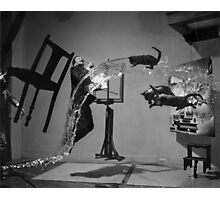 Dali Atomicus - by Philippe Halsman - Enhanced Photographic Print