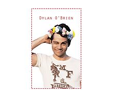 Dylan O'Brien the king.  Photographic Print