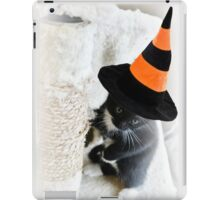 If The Cat Fits iPad Case/Skin