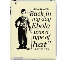 EBOLA HAT iPad Case/Skin