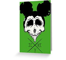 Dead Mouse (B&W) Greeting Card